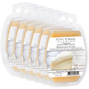 City Creek Candles™ Set of 6 Wax Melts – Frosted Cake