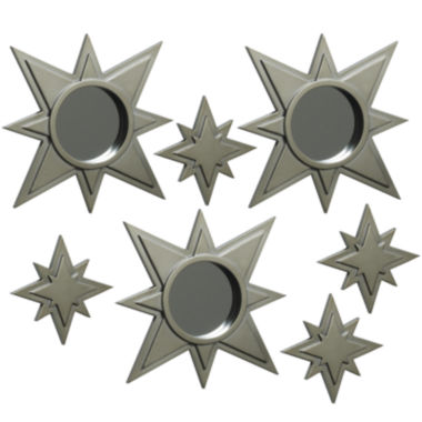 jcpenney.com | Set of 7 Gold-Tone Stars Mirror Wall Decor