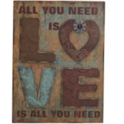 All You Need is Love Wall Decor