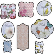 Set of 8 Nature Walk Wall Decor