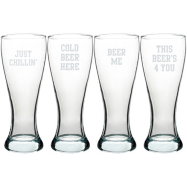 jcpenney.com | Cathy's Concepts Cold Beer Here Pilsner Set