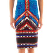 Bisou Bisou® Pull-On Pencil Skirt