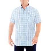 TailorByrd Short-Sleeve Woven Shirt – Big & Tall