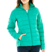a.n.a® Packable Puffer Jacket - Petite