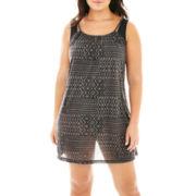 Porto Cruz® Braided Straps Dress Cover-Up - Plus