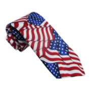 American Lifestyle All-American Flag Tie