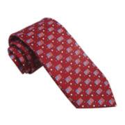 Stafford® American Flag Print Tie