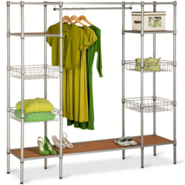 jcpenney.com | Honey-Can-Do® Freestanding Closet with Shelves