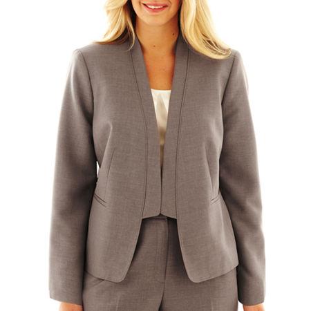 9 & Co. Shawl-Collar Jacket - Plus