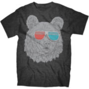 3-D Glasses Bear Tee