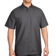 Wrangler Workwear™ Short-Sleeve Canvas Shirt