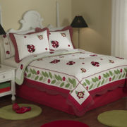 Ladybug Yard Quilt Set