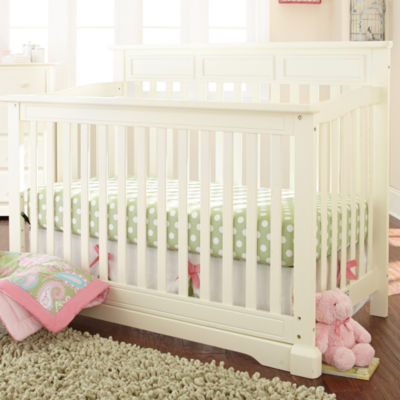 Rockland Hartford Flat Top Crib   Antique White