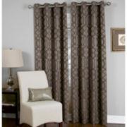 Elrene Latique Grommet-Top Curtain Panel