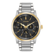 Citizen® Eco-Drive® Mens Two-Tone Multifunction Watch BU2014-56E