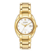 Citizen® Eco-Drive™ Celestial Gold-Tone Diamond Accent Watch EM0312-57A