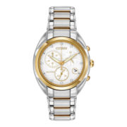 Citizen® Eco-Drive™ Celestial Womens Two-Tone Diamond Accent Watch FB1394-52A