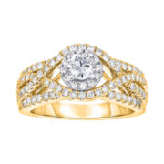 True Love, Celebrate Romance® 1 CT. T.W. Certified Diamond 14K Gold Ring