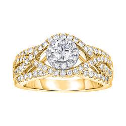True Love, Celebrate Romance® 1 CT. T.W. Diamond 14K Gold Ring