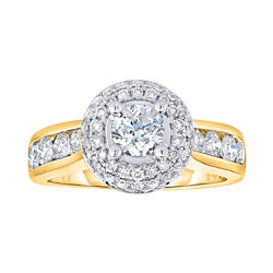 True Love, Celebrate Romance® 2 CT. T.W. Diamond 14K Gold Engagement Ring