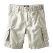 OshKosh B'gosh® Light Khaki Cargo Shorts - Boys 4-7