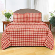 Park B. Smith Buffalo Plaid 3-pc. Duvet Cover Set