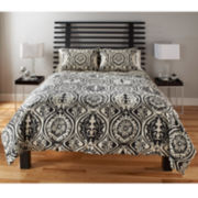M.Style York Medallion Duvet Cover Set