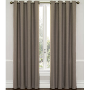 jcpenney.com | Eclipse® Westbury Grommet-Top Blackout Curtain Panel with Thermaweave