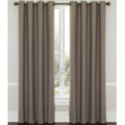 CLOSEOUT! Eclipse® Westbury Grommet-Top Blackout Curtain Panel with Thermaweave