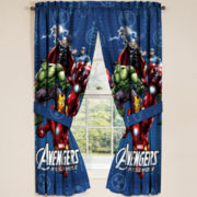 Marvel® Avengers Classic Halo Rod-Pocket Curtain Panel Pair