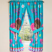 Disney Doc McStuffins Boo Boos Be Gone Rod-Pocket Curtain Panel Pair