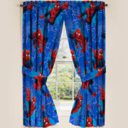 Marvel® Spiderman® Astonish 2-Pack Rod-Pocket Curtain Panels
