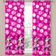 Disney Minnie Mouse Home Rod-Pocket Curtain Panel