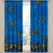 Teenage Mutant Ninja Turtles Rod-Pocket Curtain Panel