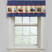 Disney Cars Line-Up Rod-Pocket Valance
