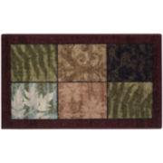 Tiffany Leaf Rectangular Rugs