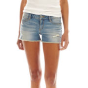 Arizona Distressed Denim Shorts
