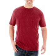 The Foundry Supply Co.™ Heathered Pocket Tee–Big & Tall