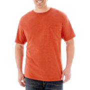 The Foundry Supply Co.® Heathered Pocket Tee-Big & Tall