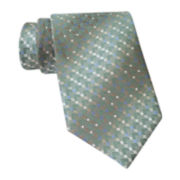 Van Heusen® Striped Mini-Geo Tie