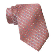 Van Heusen® Striped Mini-Geo Tie