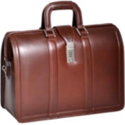 McKlein Morgan Expandable Laptop Briefcase