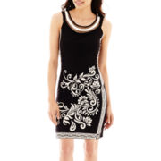 Studio 1® Sleeveless Sheath Dress - Petite