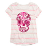 Arizona Skull Graphic Tee - Girls 7-16 and Plus