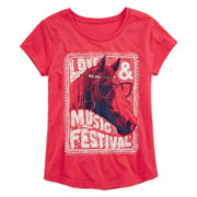 Arizona Horse Graphic Tee - Girls 7-16 and Plus