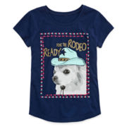 Arizona Dog Graphic Tee - Girls 7-16 and Plus