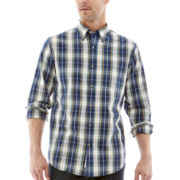 St. John's Bay® Legacy Long-Sleeve Poplin Shirt