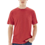 Michael Brandon® Short-Sleeve Slubbed Pocket Tee