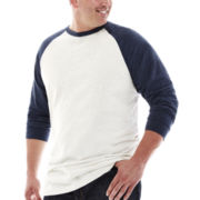 The Foundry Supply Co.™ Raglan Slub Tee - Big & Tall