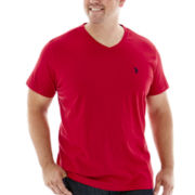 U.S. Polo Assn.® V-Neck Tee - Big & Tall